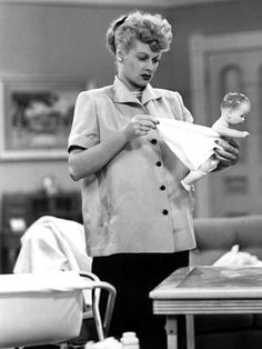 I Love Lucy pregnant pic
