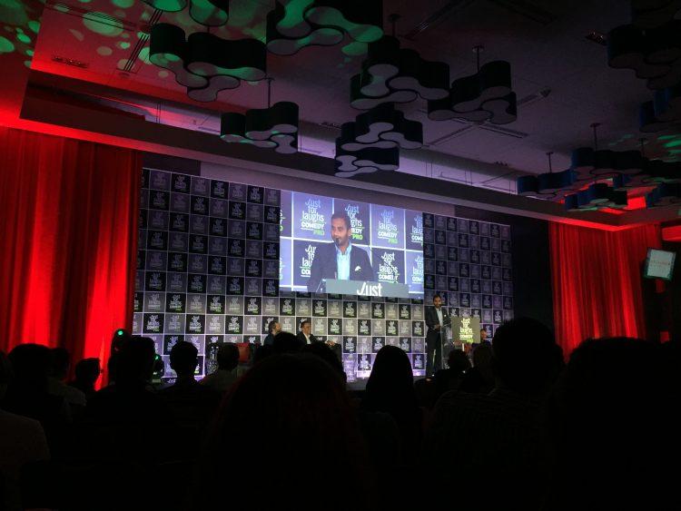 Aziz Ansari Just For Laughs Awards Show