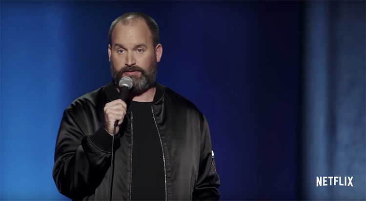 Tom Segura on his latest stand-up special,