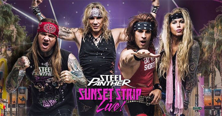 Steel Panther - Sunset Strip