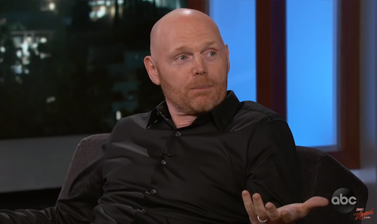 Bill Burr visits Kimmel, talks himself out of a fight at ...
