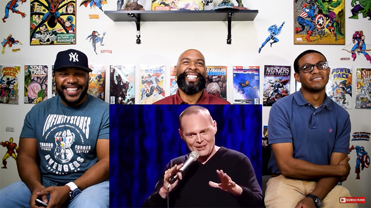 A dive into Bill Burr's popularity on Youtube reaction ...
